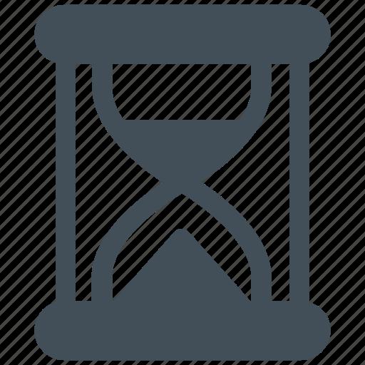 clock, glass, hourglass, loading, measure, minute icon