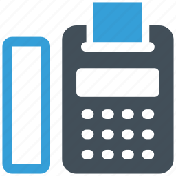 connection, contact, fax icon icon