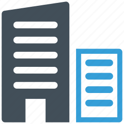 appartment, building, business, office icon icon