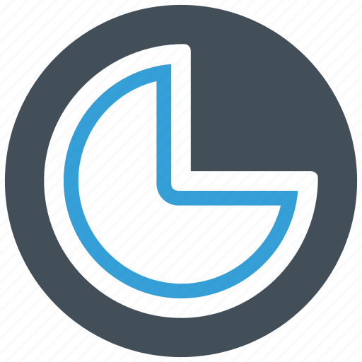 analytics, chart, pie, pie chart icon icon