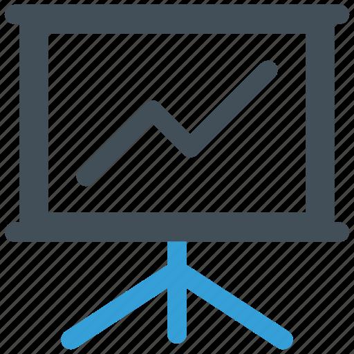 analysis, board, business, presentation icon icon