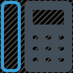 business, landline, office, phone, telephone icon icon