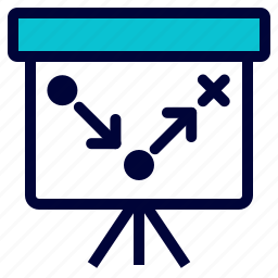 business, plan, planning, presentation, strategy icon