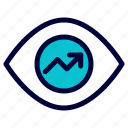 business, view, vision icon