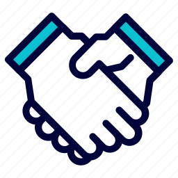 business, deal, hand, handshake icon