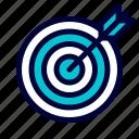 business, dart, target