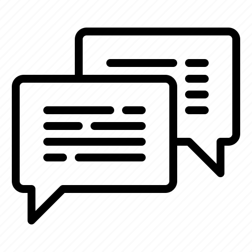 chat, communication, conversation icon