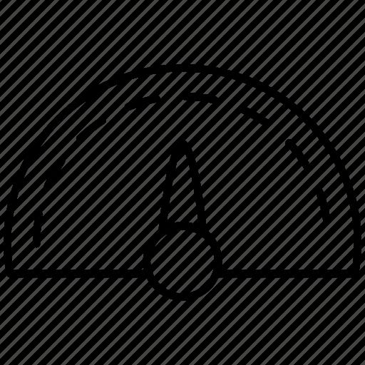 accelerate, performance, speed, speedometer, work icon icon
