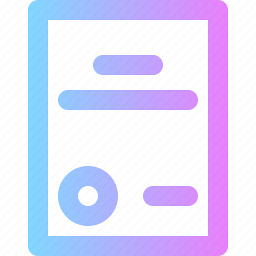 business, contract, document icon