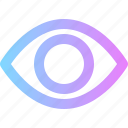 business, eye, hack, scan, visible icon