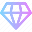 business, diamond, membership icon