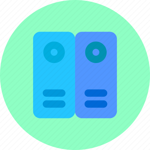 archive, documents, folders, office icon