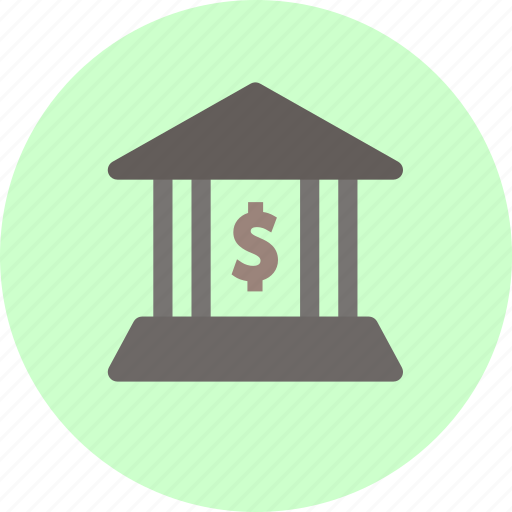 bank, debt, finance, financial icon