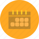 agenda, calendar, events, schedule icon