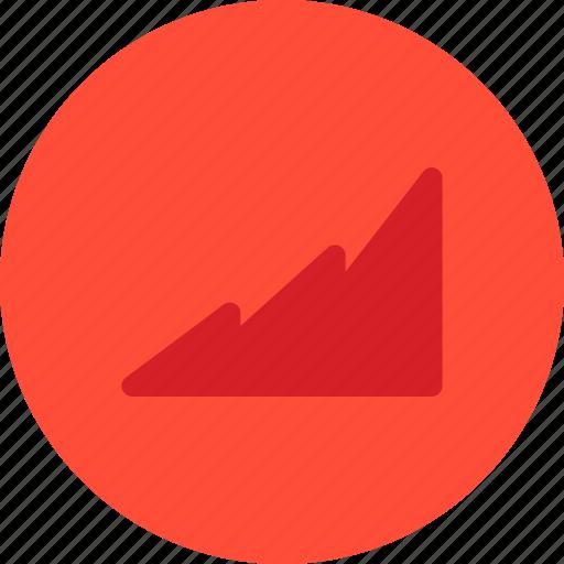 chart, fill chart, growth, statistics icon