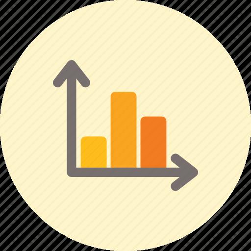 analytics, data, histogram, statistics icon