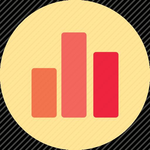analytics, bars, data, histogram, statistics icon