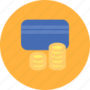 card, cash, credit card, money, payment icon