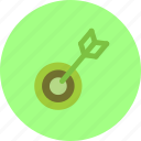 business, startup, startup idea, target icon