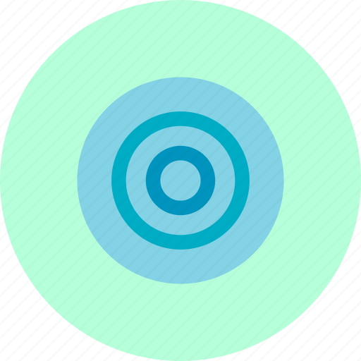 archery, business, circles, target icon