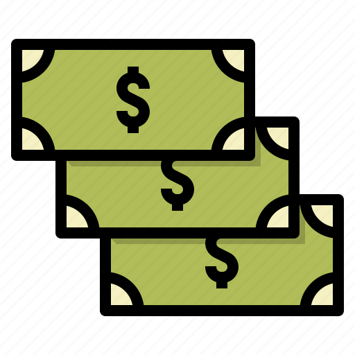 business, cash, money, payment icon