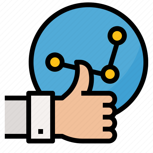 hand, management, plan, strategy icon