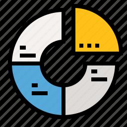 chart, market, marketing, pie, share icon