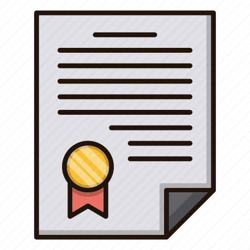 agreement, business, document, file, finance icon