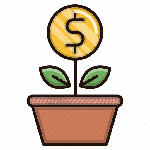 business, finance, growth, investments icon