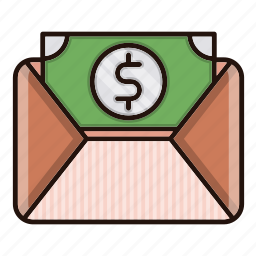 business, finance, invoice, taxes icon