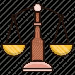 balance, business, finance, law icon