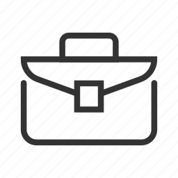 briefcase, case, diploma, diplomat, portfolio, suitcase, worker's briefcase icon
