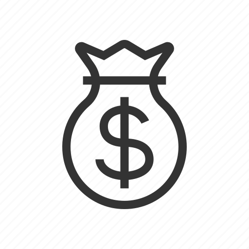 bank, dividends, dollar, investment, money, payment, purse icon