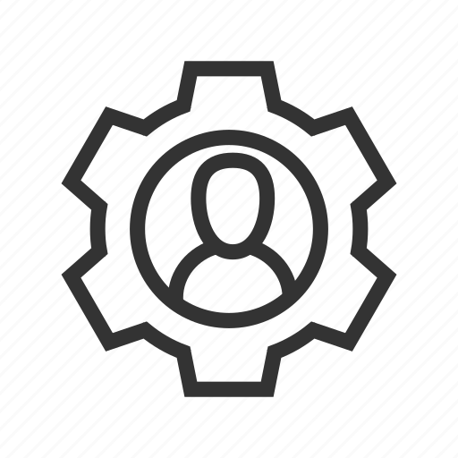 employee, employee selection, gear, options, preferences, setting, settings icon