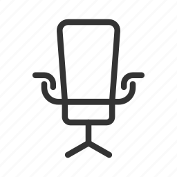 chair, chief, director, directory, interior, workplace icon