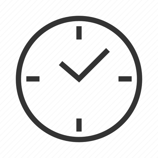 clock, time, timer, wall clock, watch, work schedule icon