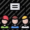 business, case, job, office, people, portfolio, team icon