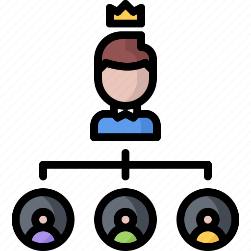 boss, business, employee, hierarchy, job, office, subordinate icon