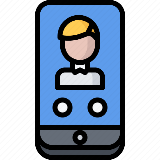 business, call, corporation, job, office, phone icon
