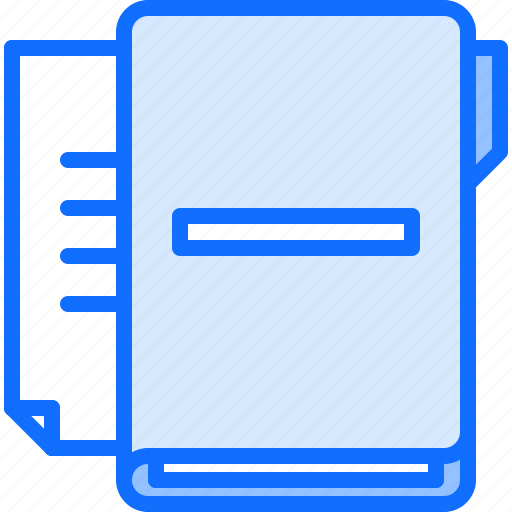 business, corporation, data, document, folder, job, office icon