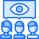 business, corporation, focus, group, job, office, people icon