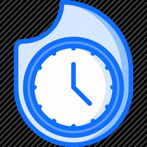business, clock, deadline, fire, job, office, time icon