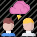 brainstorm, business, idea, job, office, storm, work