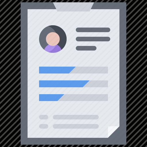 business, corporation, job, office, presentation, resume, tablet icon