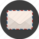 email, envelope, mail, message, paper icon