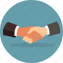 business, deal, hand, handshakes, people icon