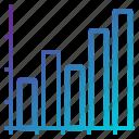 bar, charts, meeting, presentation, reports, sales icon