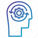 orbits, planet, solar, system icon