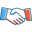agree, agreement, business, deal, entrepreneur, hand, ok icon