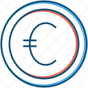business, coin, currency, euro, finance, forex, money, trading icon